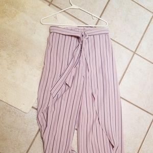 High Waist Flowy Pants